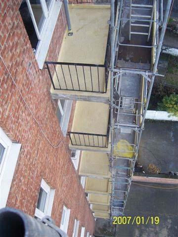 Hidroizolare balcoane, terase, trotuare, băi şi bucătării